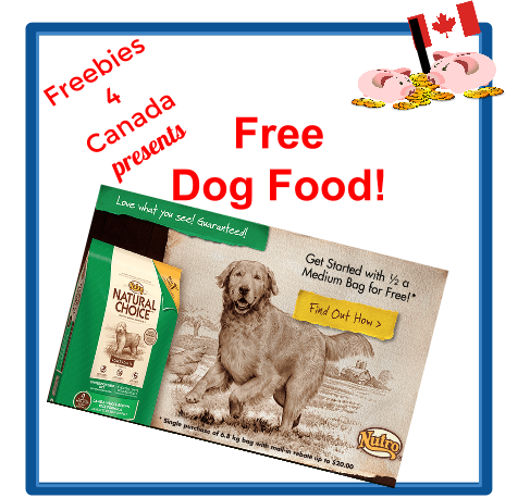 2014 Canadian Freebies - Dog Food Nutro $20 Rebate