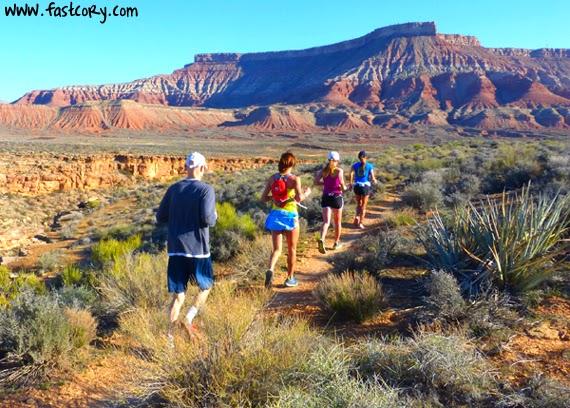 Southern Utah trail running