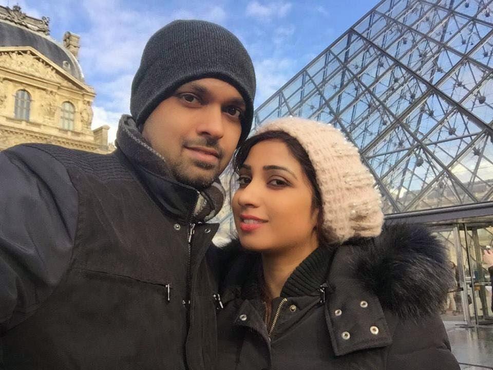 Shreya Ghoshal Wedding Photo