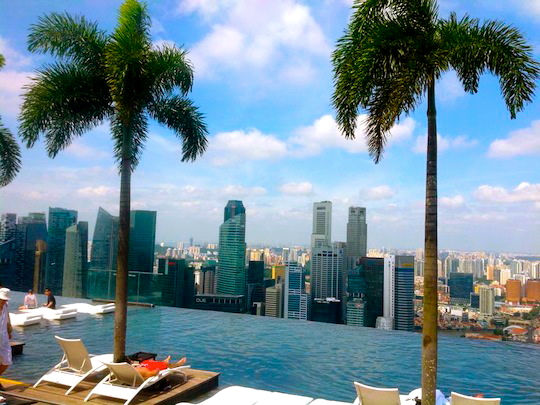 MBS Infinity Pool Singapore