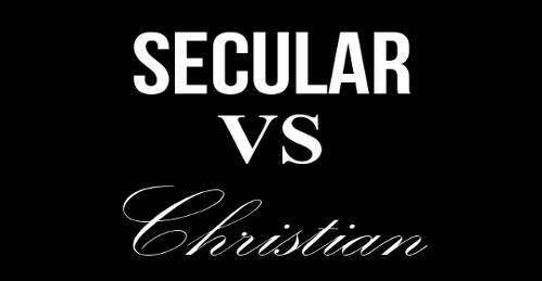 secular vs christian dating Do christian couples date differently than secular couples both christian and secular dating couples have many similar characteristics, but according to relationship experts, clergy leaders, faithful christians and others, there.
