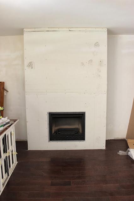 Fireplace Mantel Update - Dream Book Design