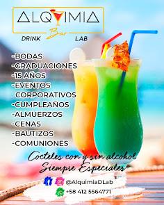 ALQUIMIA DRINK LAB... Cócteles especiales -con y sin alcohol- para sus fiestas o eventos ejecutivos