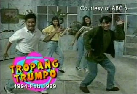Tropang Trumpo Chicken Caronia Dance Retro Pilipinas 90s Gag Show ABC Retro Pilipinas Feature