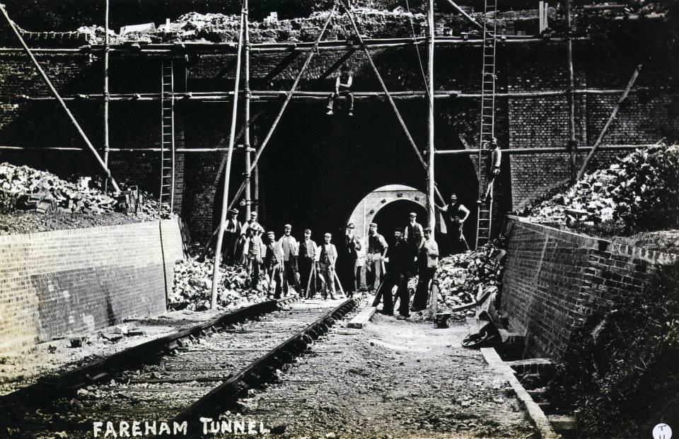 Building Fareham Tunnel