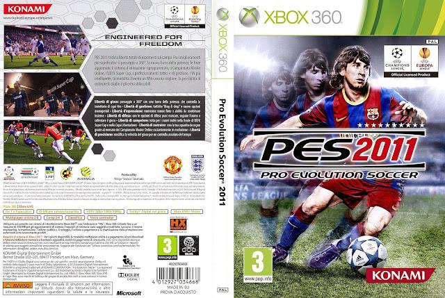 Cover PES 2011 Full