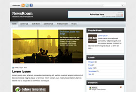 NewsRoom Blogger Template