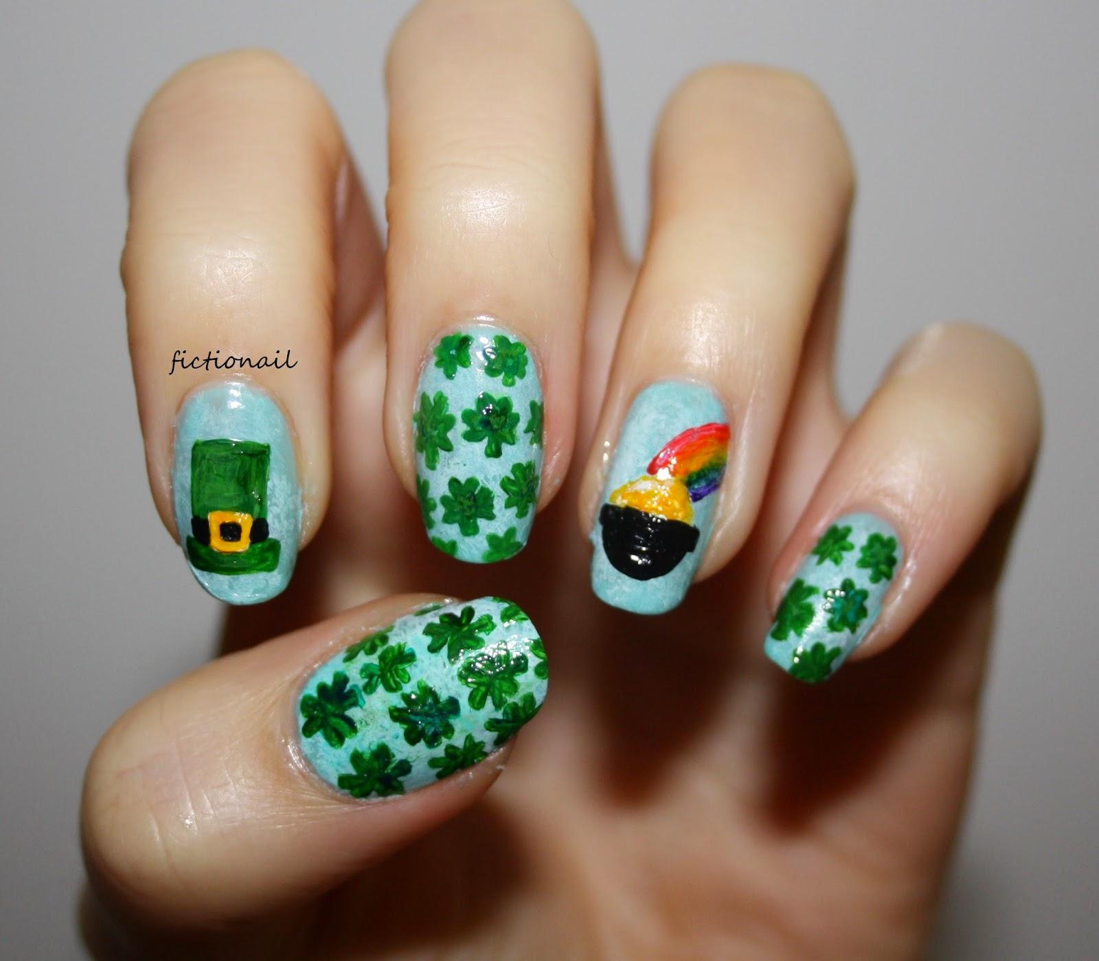 Irish St. Patrick\'s Day Nails