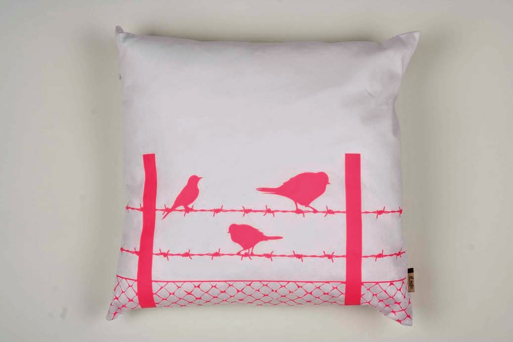 http://felt.co.nz/listing/125149/Neon-pink-print-cushion