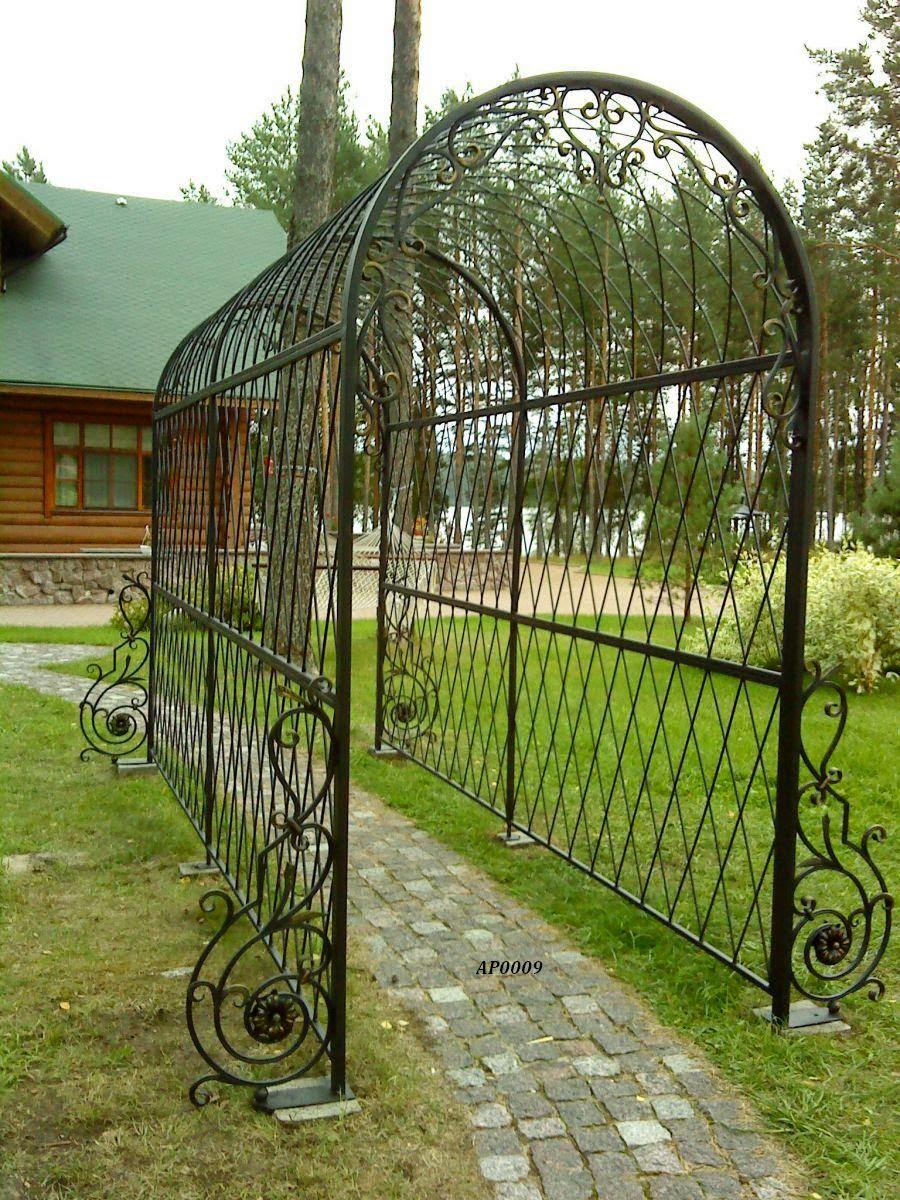 Арки металлические для сада своими руками