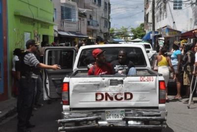 Detienen cinco operaban puntos droga en San Juan