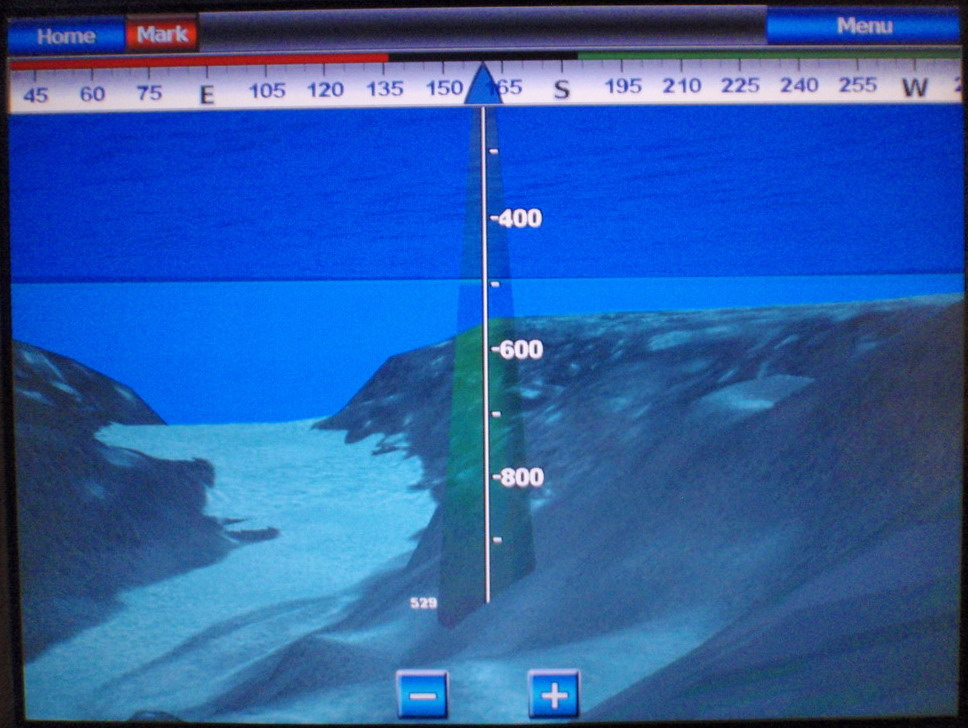 3d view picture 3d fish finder