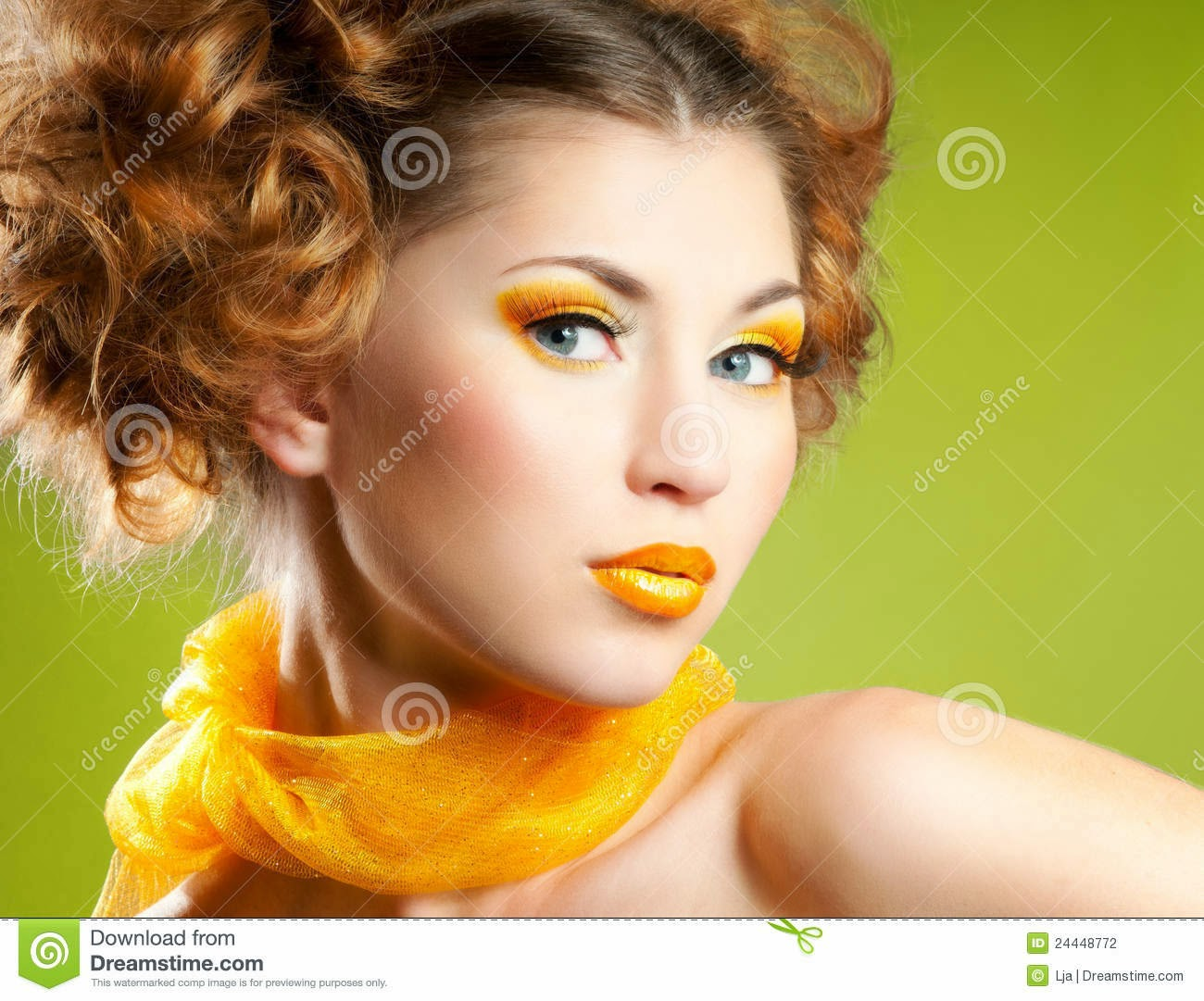 MAKE UP GIALLO TRUCCO YELLOW