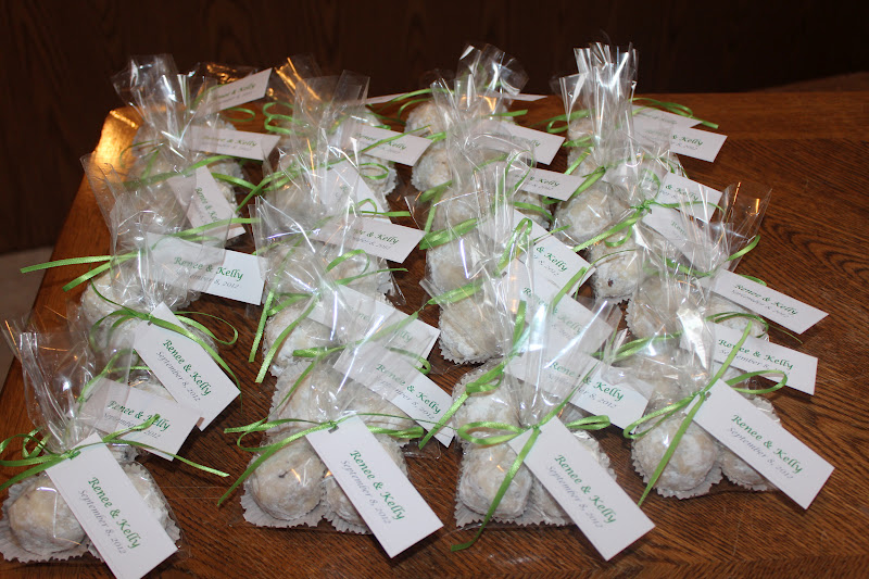 The Njos Family Bridal Shower Favors