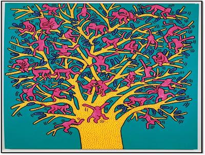 Expo Keith Haring Political Line MAM et 104 oeuvres engagées pop art Paris 2013