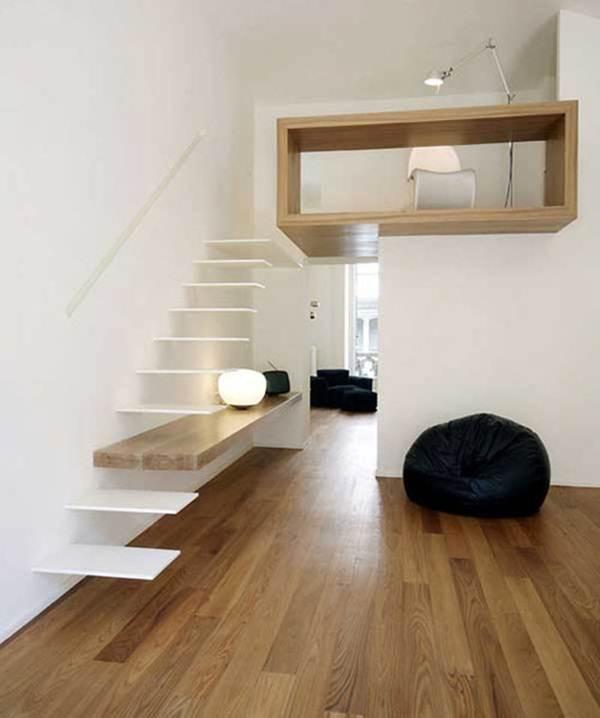 tangga-terapung-rumah-moden