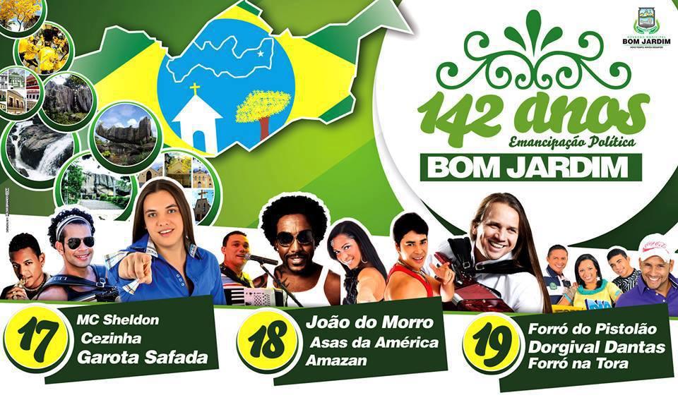 festa em bom jardim hoje:Banda Garota safada em Bom Jardim,festa de emancipação política