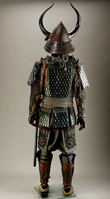 Last Samurai Ujio Warrior costume back