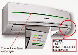 Daftar Harga AC 1 2 1 2 PK Panasonic Low Watt