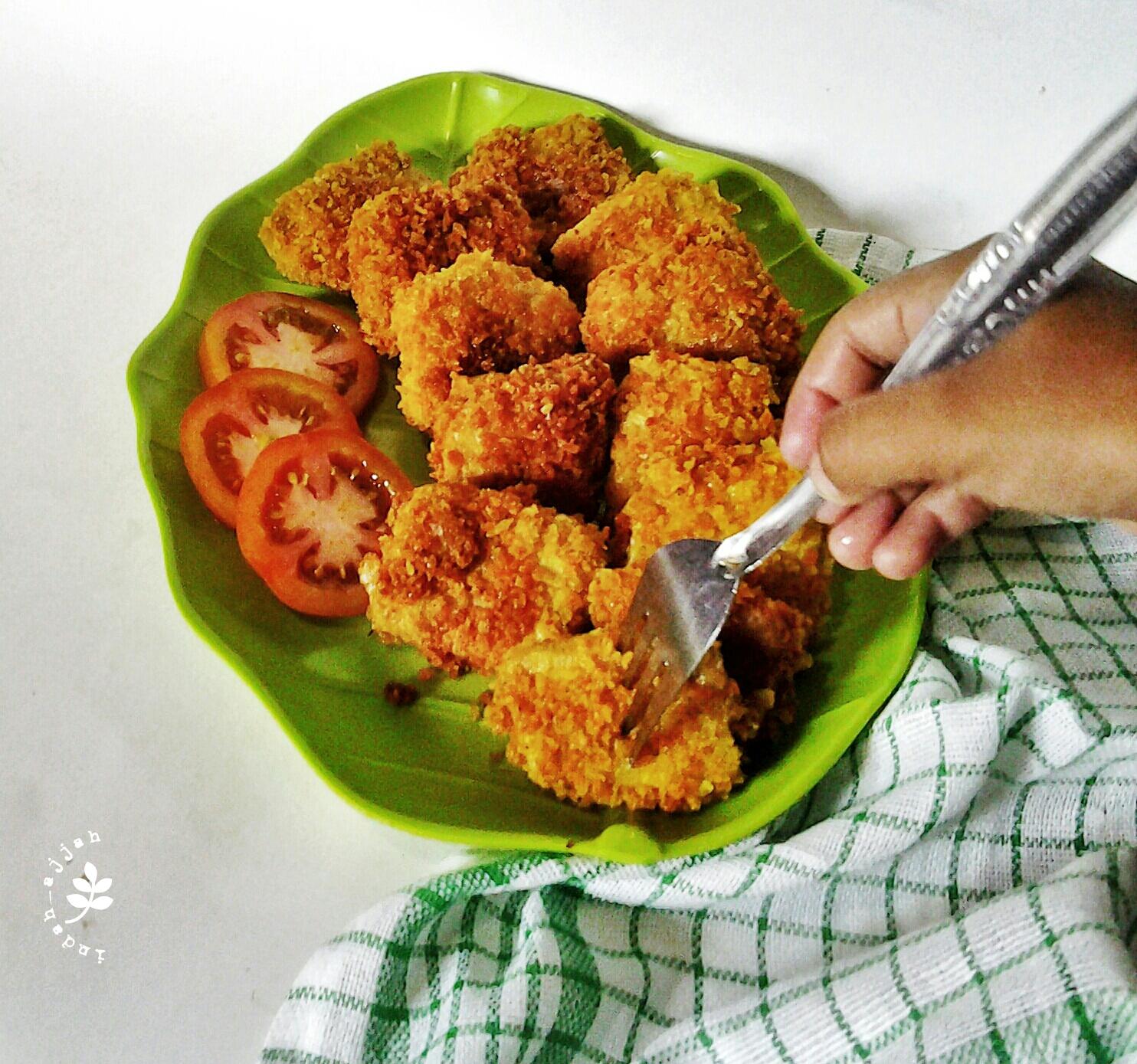 Nugget Ayam Tahu: Resep Nugget Ayam Tahu Sayur