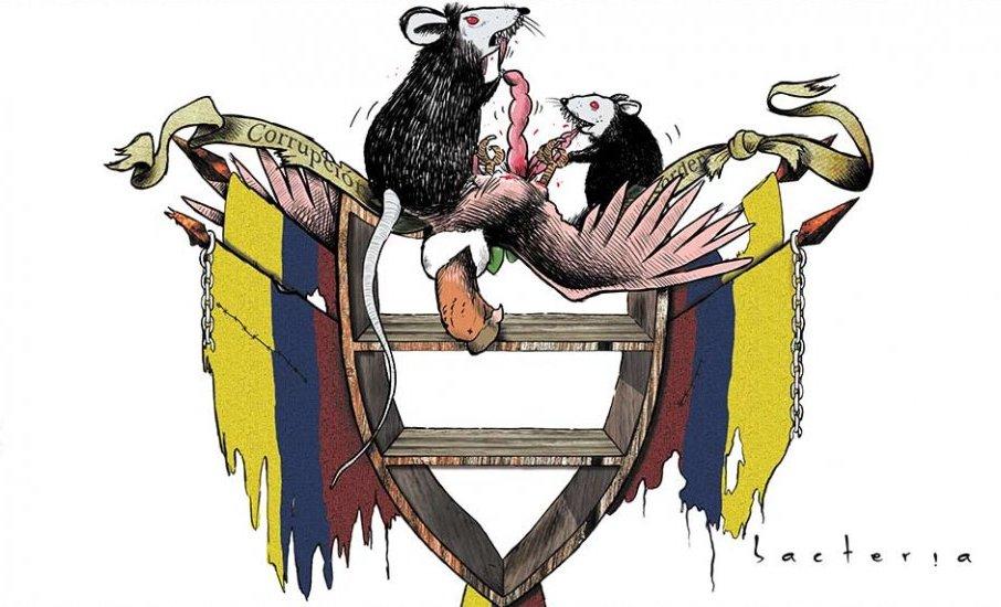El Ambidiextro Escudo Nacional