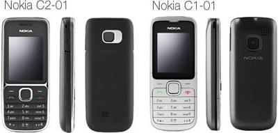 Nokia C2-01 and C1-01 for Orange UK coming