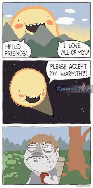 funny comics Sun picture