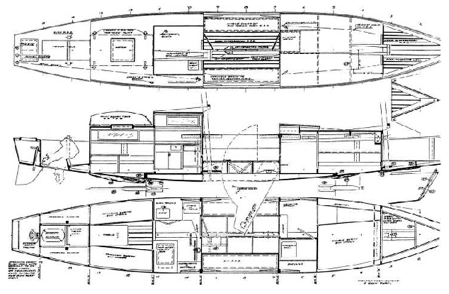 Design Plans For A Champlain Schooner