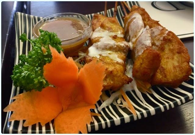 Thailand Cafe, Bolton - Chicken Satay
