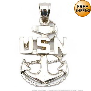 Navy Anchor Charm7