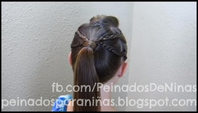 PEINADOS DE COLETAS CON TRENZAS PARA NIÑAS http://www.peinadosparaniñas.blogspot.com