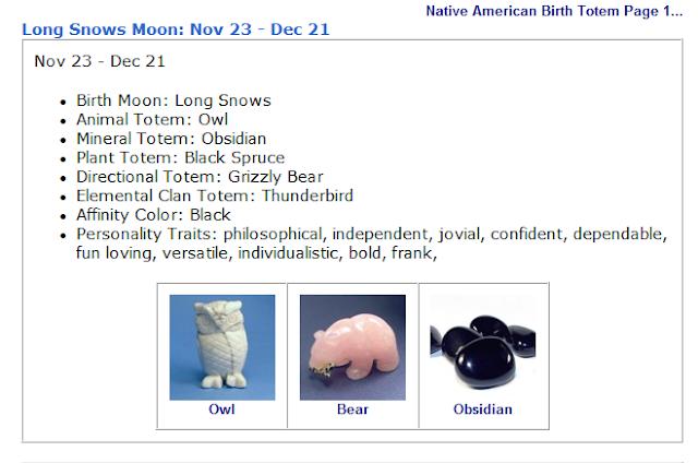 Birth Moon Long Snows