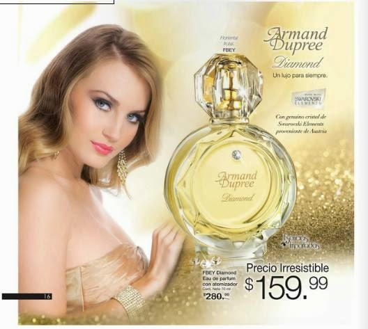 fragancia Diamond $159.99 C-25 2015