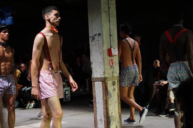 Pokaz mody, Lille, Francja, projektant: Le Colonel Moutarde -