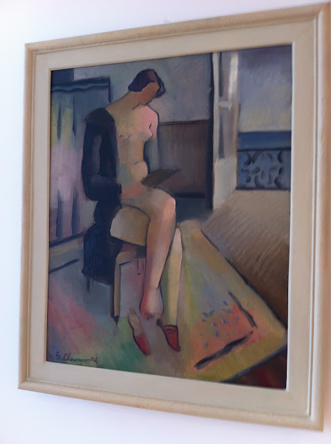 'Nude in the Interior' by Sava Sumunovic