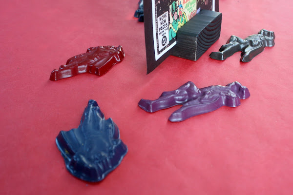 superhero party crayons games activities