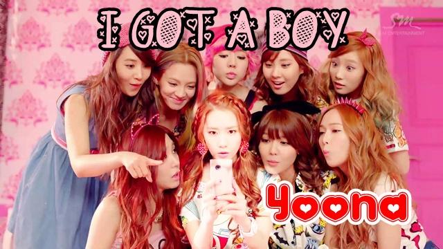 i got a boy yoona girls generation