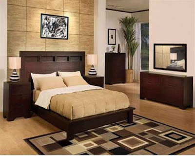 dark wood bedroom furniture modern interior design