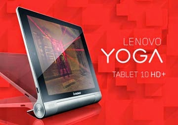 YOGA Tablet 10 HD+ Curi tumpuan Mobile World Congress 2014
