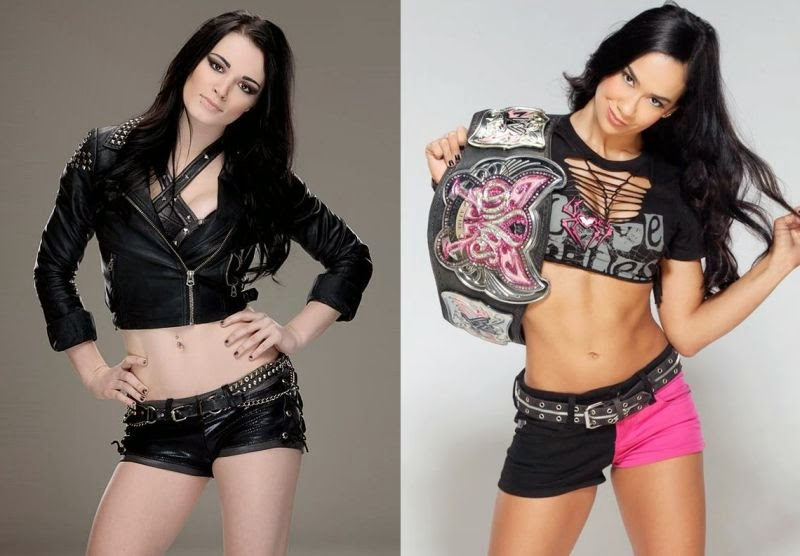 AJ, Paige, WWE Raw, WWE Monday Night Raw, wwe wrestling