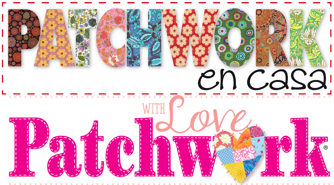 Patchwork en Casa - Patchwork with Love