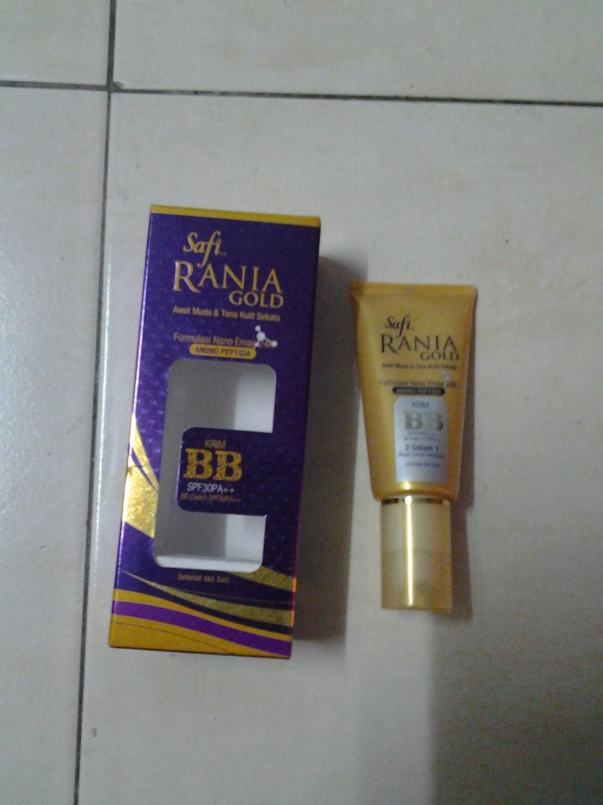 Celoteh Ibu Amirul Krim BB Safi Rania Gold