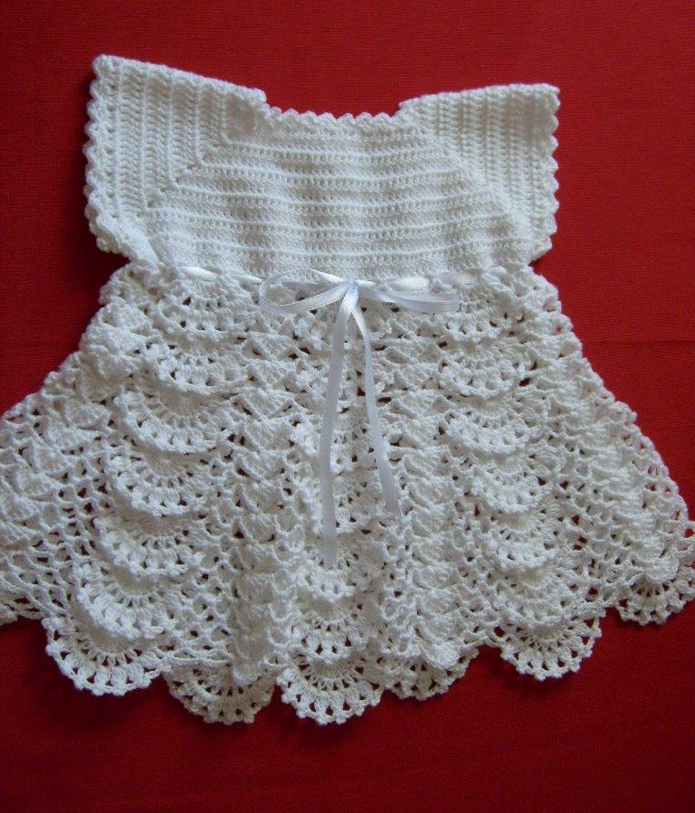 TRICO y CROCHET-madona-mía: modelos en crochet para niñas