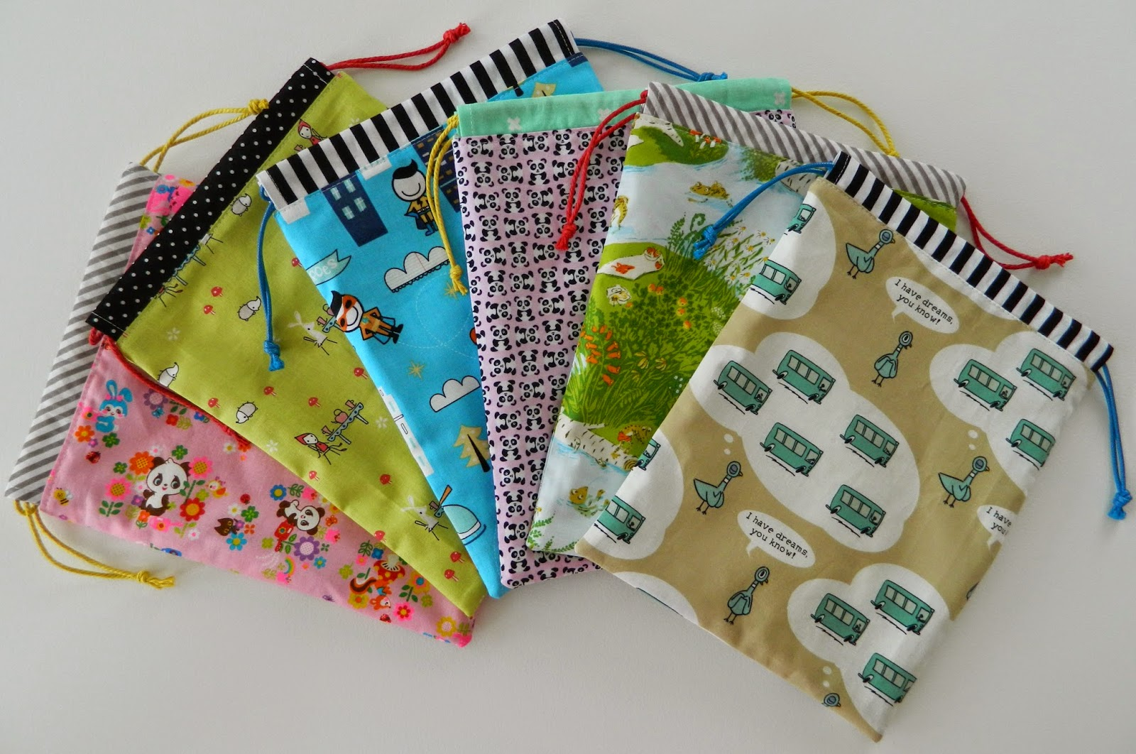 s.o.t.a.k handmade: drawstring bags