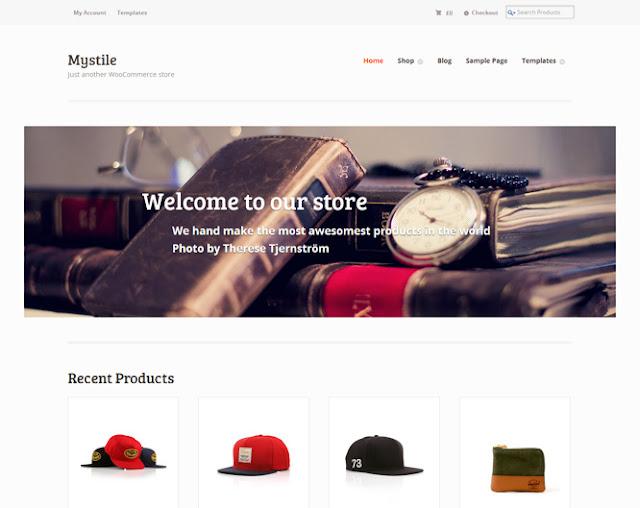 Mystile Free WordPress BTDesigner blogspot