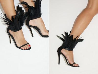 Cómo poner plumas en las sandalias en Recicla Inventa