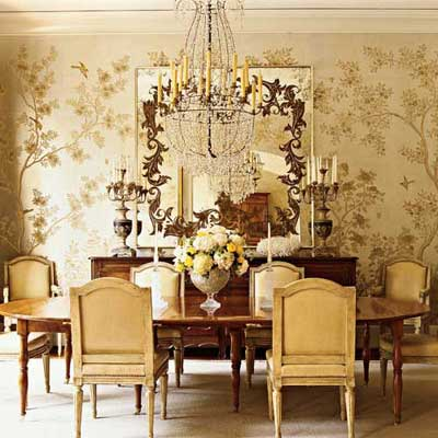 The Enchanted Home: Gilded in gold.......