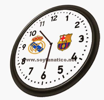 hora, inicio, barcelona, realmadrid, derbi