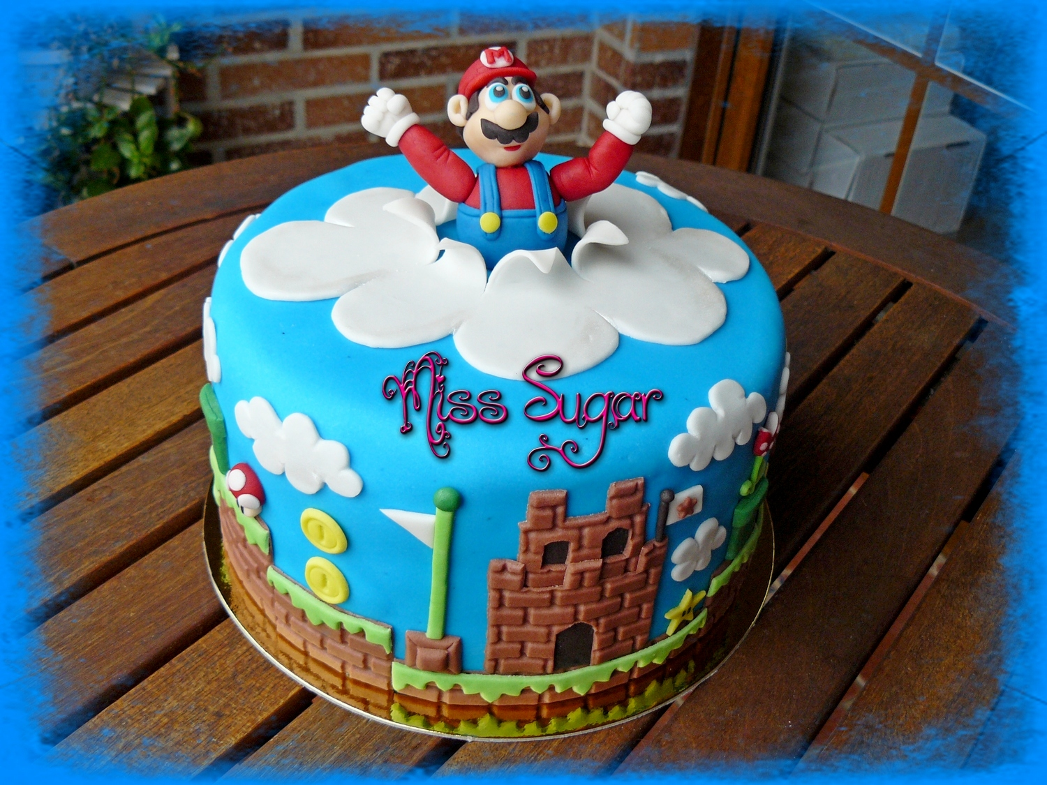 Miss Sugar: TARTA SUPER MARIO BROS!!!!!!