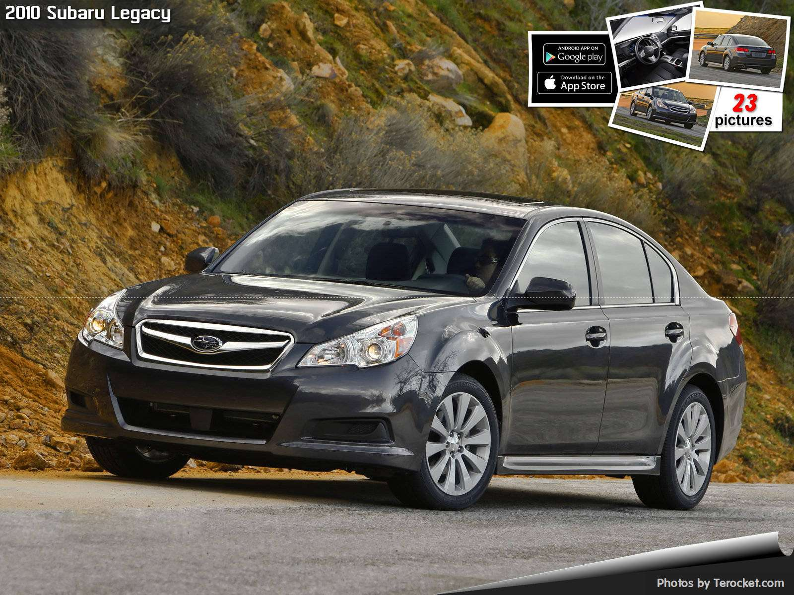 Hình ảnh xe ô tô Subaru Legacy 2010& nội ngoại thất